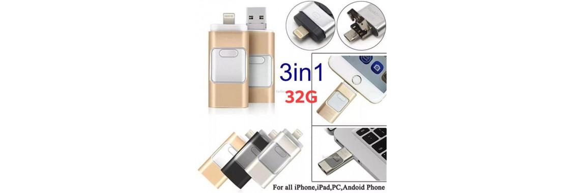 USB OTG DRIVE 3IN1 32G